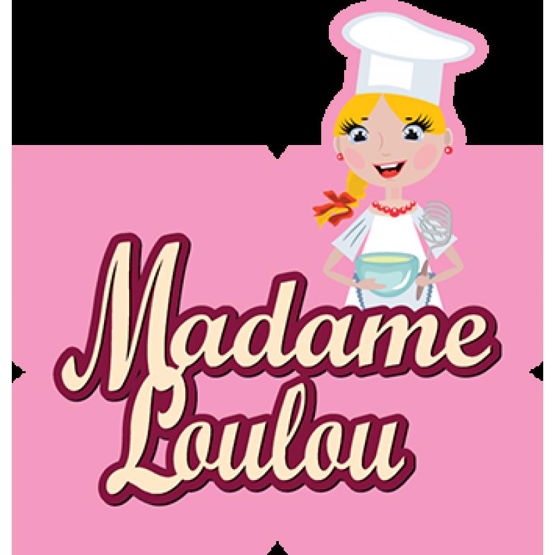 MADAME LOULOU ČIERNY (BLACK) ROLL FONDANT 250G