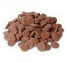 mliečna 33,6% čokoláda CALLEBAUT 0,5 kg